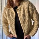 Mi Proyecto del curso:  Top-down: prendas a crochet de una sola pieza. Um projeto de Crochê de Maria Briatore - 20.04.2021