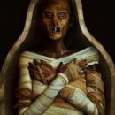 La Reina Hatshepsut - Fotografía y maquillaje protésico. Un progetto di Fotografia, Fotografia di ritratto, Fotografia in studio, Fotografia digitale, Fotografia artistica , e Autoritratto fotografico di Miriam Eme - 01.04.2021