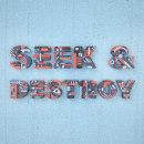 Seek & Destroy. Un proyecto de Ilustración, 3D, Lettering, Modelado 3D, Diseño 3D y Lettering 3D de Camilo Belmonte - 21.04.2021