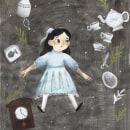 Mi Proyecto del curso: Experimentación gráfica para relatos ilustrados. Un proyecto de Ilustración, Ilustración infantil, Ilustración editorial y Pintura gouache de Alejandra Ruiz Guerra - 21.04.2021
