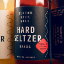 Hard Seltzer — Labels. A Design, Art Direction, and Packaging project by David Matos - 04.22.2021