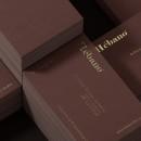 HÉBANO - TARJETA DE VISITA  . Un progetto di Design, 3D, Br e ing e identità di marca di David Espinosa - 23.04.2021