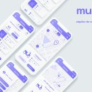 """Muving app. A UI / UX, and Mobile App Design project by Jose """"Lope"""" López - 09.23.2021"""