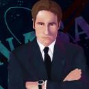 •Fox Mulder - XFiles•. Un proyecto de Ilustración digital, Ilustración de retrato, Dibujo de Retrato y Pintura digital de Paula Gutiérrez Cadavid - 22.10.2020