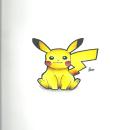 pikachu de pokemon. Um projeto de Ilustração, Desenho a lápis, Desenho e Ilustração com tinta de omar chirinos - 25.04.2021