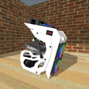 Prototipo Gabinete funcional Type Zero + Setup a instalar para el mismo. Um projeto de Informática, Design e Modelagem 3D de Ignacio Alanis - 19.02.2021