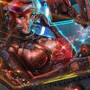 Ilustración para la imagen del videojuego Mission Artemis.. Un proyecto de Ilustración, Dirección de arte, Br, ing e Identidad, Diseño de personajes, Diseño de juegos, Diseño gráfico, Diseño de iconos, Diseño de logotipos, Ilustración digital, Videojuegos y Concept Art de ángel luis sánchez - 25.04.2021