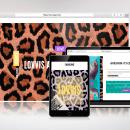 Lovvis Ad. Un proyecto de Diseño Web de El estudio de Coco - 26.09.2021