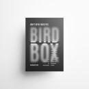 Diseño de Cartel Tipográfico - Bird Box. Um projeto de Design, Direção de arte, Design gráfico, Criatividade e Desenho tipográfico de Sofía Gregorio - 27.04.2021