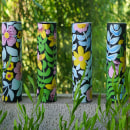 Regaderas de fierro con Bonhomia Verde. Un projet de Design , Illustration, Design industriel, Peinture acr , et lique de Catalina Cumsille - 03.03.2021