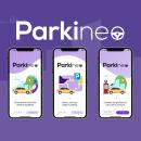 Proyecto Parkineo. Um projeto de Design, Publicidade, UI / UX, Direção de arte e Design gráfico de Carlos De Luz Muñoz - 30.04.2021