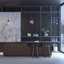 Kitchen. Um projeto de 3D, Arquitetura, Arquitetura de interiores, Design de cenários, Criatividade, Modelagem 3D, Decoração de interiores, Arquitetura digital, 3D Design, Interiores e Visualização arquitetônica de Héctor Perna Vila - 16.04.2021