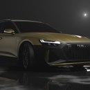 Audi RS 6 Avant. Um projeto de 3D, Design de automóveis, Design de produtos, Criatividade, Modelagem 3D, Marketing digital e 3D Design de Héctor Perna Vila - 15.04.2021