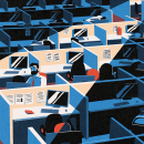 Ilustración para el diario El país. Um projeto de Ilustração de Daniel Crespo Saavedra - 25.04.2021
