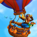 World Explorer- Characters design - Game development. Un proyecto de Ilustración, Diseño de juegos, Animación de personajes e Ilustración digital de Alicia Roig - 18.04.2021