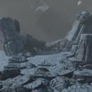 Mi Proyecto del curso: Ilustración fantástica 3D con Blender - Hoth concept art 3D. Um projeto de Design, 3D, Multimídia, Design de cenários, Modelagem 3D e Concept Art de Elias Saavedra - 01.05.2021