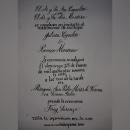 Mi Proyecto del curso: Caligrafía inglesa de la A a la Z. Um projeto de Caligrafia de Paul Rios - 01.05.2021