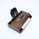 Estuche. Organizador de escritorio. Un progetto di Artigianato, Product Design , e Falegnameria  di Oitenta - 01.05.2021