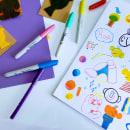 Mi Proyecto del curso: Dibujo y creatividad para pequeños grandes artistas. Um projeto de Desenho artístico de Patrick Steven Aguilar López - 07.05.2021