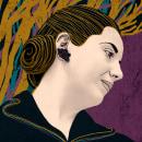 Mi Proyecto del curso: Ilustración flat con Photoshop. Um projeto de Ilustração de Débora Herrera - 06.05.2021