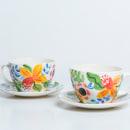 Mi Proyecto del curso: Ilustración floral sobre cerámica. Un projet de Design , Illustration, Artisanat , et Céramique de Catalina Cumsille - 21.04.2021