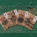 """""""Cuadernos de Frasco de Paisaje"""", de Ediciones Moñohecho. Um projeto de Design editorial, Ilustração e Direção de arte de Claudio Troisemme - 10.05.2021"""