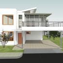 Mi Proyecto del curso: Diseño y modelado arquitectónico 3D con Revit. Un proyecto de Diseño y Arquitectura de Edwin Hernandez Ariza - 03.05.2021