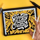 Lanzamiento Adobe Illustrator para iPad. Un proyecto de Diseño, Dirección de arte, Diseño gráfico, Tipografía, Caligrafía, Lettering, Instagram, Lettering digital y Diseño para Redes Sociales de Alejandro Solórzano - 14.10.2020