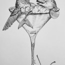 Mi Proyecto del curso: Ilustración surrealista con rotuladores. Um projeto de Ilustração de guiwi - 05.05.2021