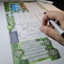 Planta baixa humanizada VC project . Um projeto de Ilustração, Arquitetura, Paisagismo, Esboçado, Desenho e Ilustração Arquitetônica de Marcelo Marttins - 13.05.2021