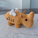 Mi Proyecto del curso: Diseño y creación de amigurumis. Un proyecto de Artesanía, Diseño de juguetes, Tejido, DIY y Crochet de Rusia Candelario Murillo - 14.05.2021