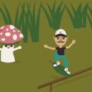 Mi Proyecto del curso: Diseño de personajes vectoriales para principiantes. A Illustration, Character Design, Vector Illustration, and Drawing project by Pamela González Sánchez - 05.10.2021