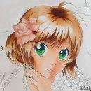 Mi Proyecto del curso: Coloreado con marcadores para dibujo manga. Un proyecto de Ilustración, Cómic, Teoría del color y Dibujo manga de Núria R.L. - 15.05.2021