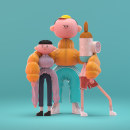My project in Creative 3D Characters with 3ds Max course. A 3D, Animation, Character Design, 3d modeling, 3D Character Design, and Design 3D project by Laurie Rowan - 03.19.2021