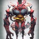 Incineroar. Um projeto de 3D, Design de personagens e Design de personagens 3D de Fer Aguilera Reyes - 17.05.2021