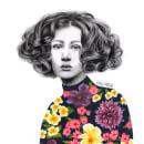 Mi Proyecto del curso: Retrato con lápiz, técnicas de color y Photoshop. Um projeto de Ilustração, Artes plásticas, Desenho a lápis, Desenho, Ilustração digital, Ilustração de retrato e Desenho de Retrato de Priscila Cassanello Kukulka - 17.05.2021