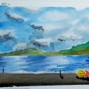 Mi Proyecto del curso: Página de cuaderno de viaje. Un projet de Illustration, Aquarelle, Illustration architecturale , et Carnet de croquis de Paulina González - 15.05.2021