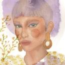 Mi Proyecto del curso: Retrato ilustrado en acuarela. Un proyecto de Ilustración, Bellas Artes, Pintura, Dibujo, Pintura a la acuarela, Ilustración de retrato, Dibujo de Retrato y Dibujo artístico de Sonia Nieto Nuñez - 09.05.2021