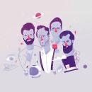 Love of Lesbian Streaming en México. Um projeto de Ilustração, Artes plásticas, Desenho, Design de cartaz, Ilustração digital, Ilustração de retrato e Desenho de Retrato de Antonio Domínguez Valdés - 15.10.2020