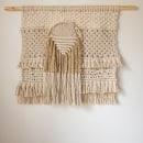 Mi Proyecto del curso: Introducción al macramé: creación de un tapiz decorativo. Um projeto de Design de acessórios, Artesanato, Design de interiores, Decoração de interiores, Tecido e Macramê de Maria Briatore - 19.05.2021