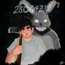 •Donnie Darko•. Un proyecto de Ilustración, Ilustración digital, Ilustración de retrato, Dibujo de Retrato y Dibujo digital de Paula Gutiérrez Cadavid - 22.05.2021