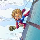 Spider - Milo / Commission. A Illustration, Animation, Art Direction, Character Design, Game Design, and Graphic Design project by Rodrigo Sevilla - 05.24.2021