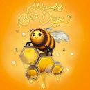 🐝 World Bee Day 🐝. Um projeto de Design de personagens, Modelagem 3D e Lettering 3D de Adrián Dafonte Gómez - 20.05.2021