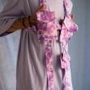 Tie Dye Harness. Un proyecto de Diseño, Diseño de complementos, Moda, Costura, Upc, cling y Teñido Textil de Peter Wasp - 24.05.2021