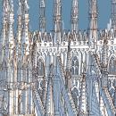 Popping Up Milano. Um projeto de Design, Ilustração, Música e Áudio, Motion Graphics, Instalações, Cinema, Vídeo e TV, Animação e Arquitetura de Carlo Stanga - 27.05.2021