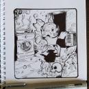 Mi Proyecto del curso: El dibujo como base creativa. Un proyecto de Ilustración, Dibujo a lápiz, Dibujo, Ilustración digital, Dibujo artístico y Dibujo digital de ismadxd7 - 28.05.2021