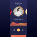 Music app concept. Un proyecto de Diseño de apps y UI / UX de Hairo Mercedes Hernández - 02.05.2021