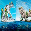 Mi Proyecto del curso: Collage digital en Photoshop: composición y efectos visuales. Um projeto de Fotografia, Colagem, Retoque fotográfico, Fotografia artística, Composição Fotográfica e Fotomontagem de Larry Morales - 28.05.2021