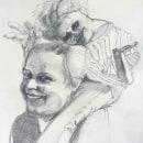 My project in Realistic Portrait with Graphite Pencil course. Un proyecto de Ilustración, Bellas Artes, Bocetado, Dibujo a lápiz, Dibujo, Ilustración de retrato, Dibujo de Retrato, Dibujo realista, Dibujo artístico y Dibujo anatómico de Didier Van Impe - 05.05.2021