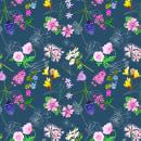 Colección Wild Flowers. Um projeto de Ilustração, Br, ing e Identidade, Design gráfico, Pattern Design, Design de moda, Ilustração têxtil e Ilustração botânica de Mònica Roca - 31.05.2021